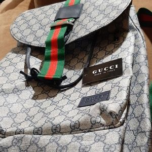 Genuine leather Gucci bag